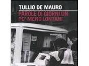 Parole giorni meno lontani Tullio Mauro