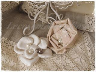 collane e spille shabby chic