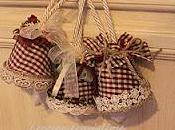Country chic Natale alberi dintorni
