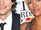 relazione segreta Rihanna Ashton Kutcher solo bufala