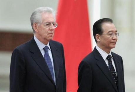 Monti: Cina importantissimo partner strategico