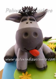 Toyvian modello animale di fattoria figure di maiale di cane di