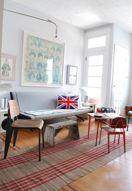 union jack rules in interior design paperblog. Black Bedroom Furniture Sets. Home Design Ideas
