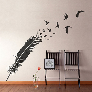 Wall stickers top ten paperblog - Escalier a pas decales leroy merlin ...